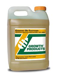 Fertilisers for thatch control