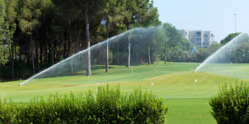 Use Rain Bird's Water Management Systems to Keep Your Turf Healthy